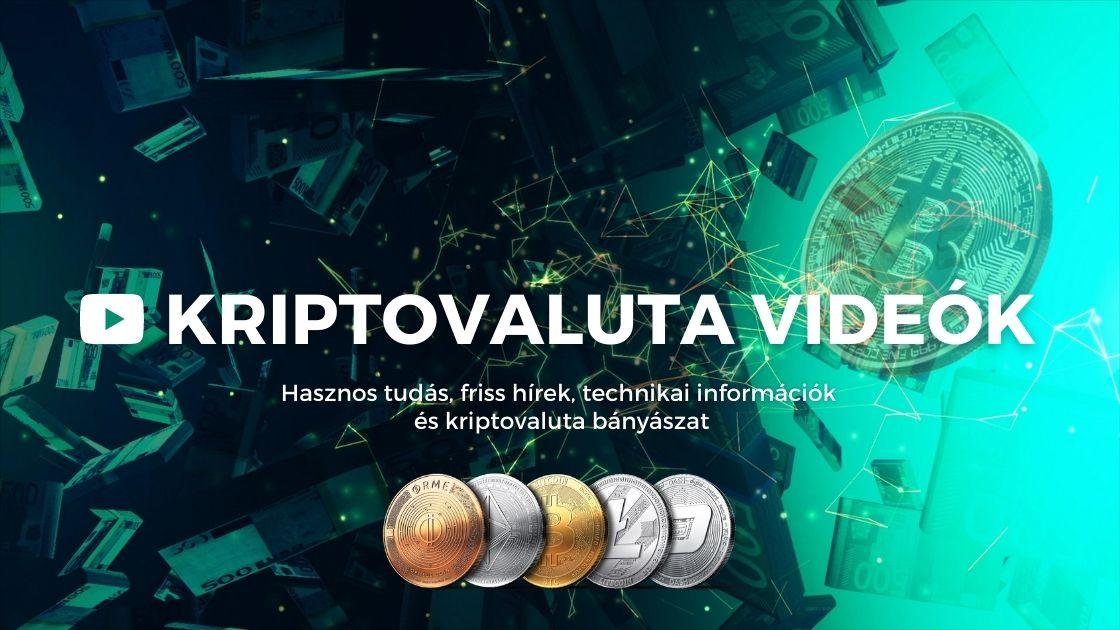 kriptovaluta videók